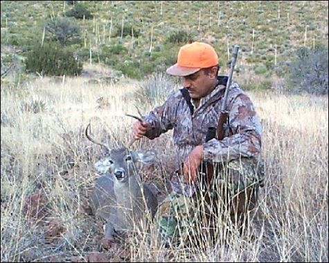 It was around 330 in the afternoon and I had just finished pitching my backpack tent under a pair of mesquite trees. I was hunting Coues whitetail deer in ... & Backpack Buck