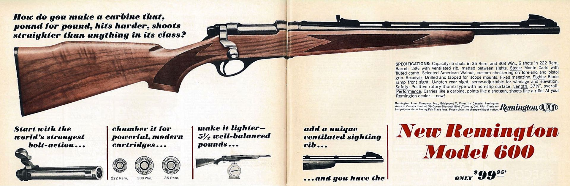 Remington Model 600