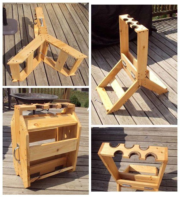 Wood Folding Gun Rack Plans PDF free