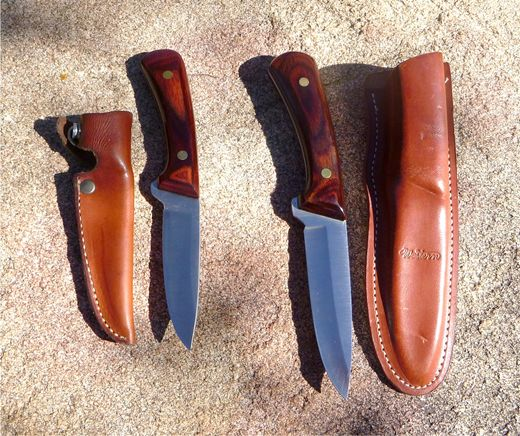 Later Year Western Knives